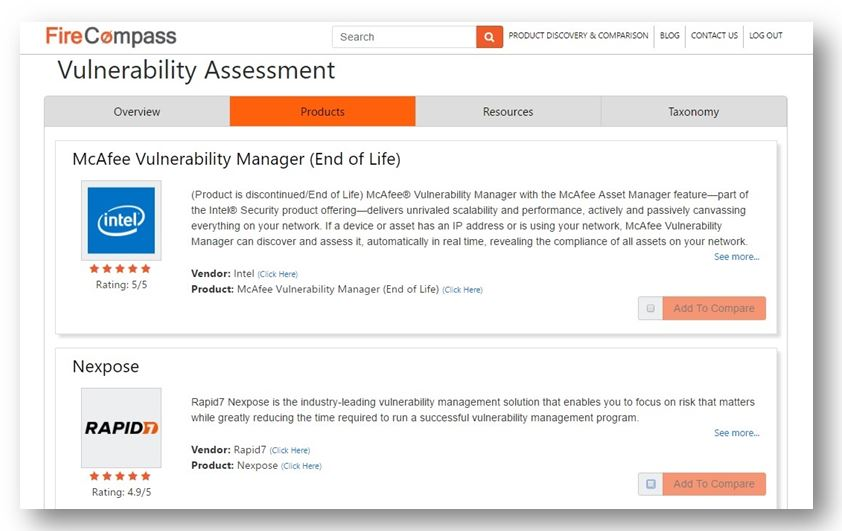 Best vulnerability assessment tools