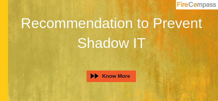 Recommendation to Prevent Shadow IT