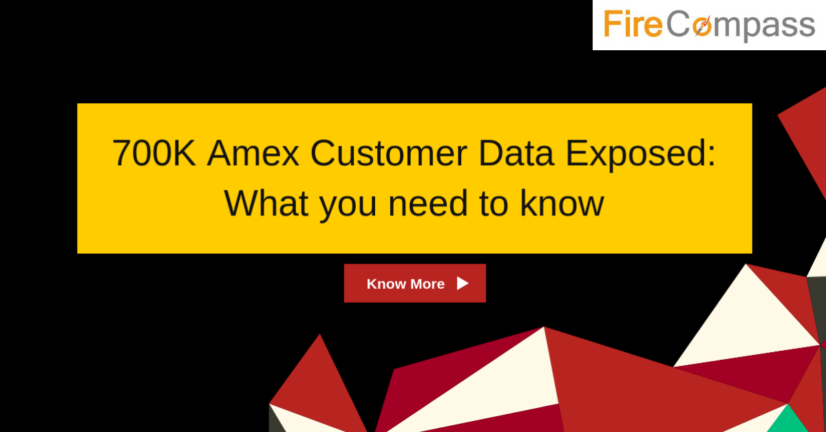 Amex Customer data exposed