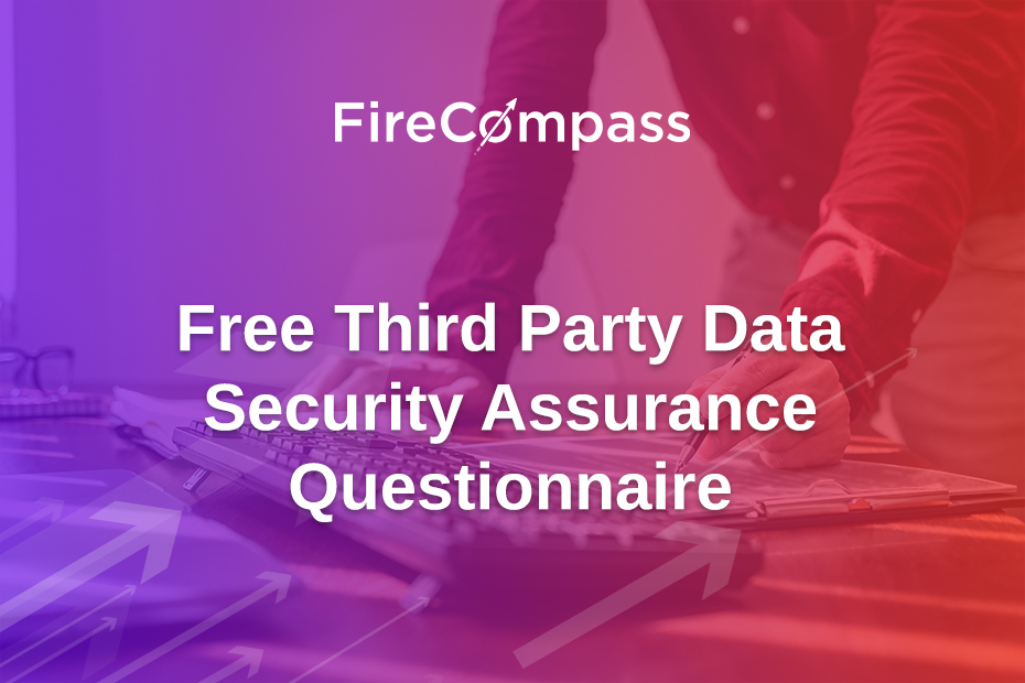 Free Third Party Data Security Assurance Questionnaire