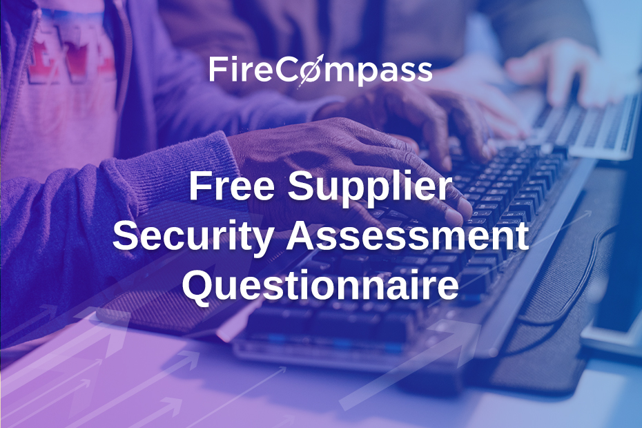 Free Supplier Security Assessment Questionnaire
