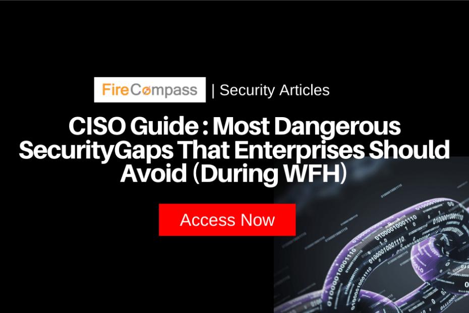 Most Dangerous Security Gaps That Enterprises Should Avoid (During WFH)