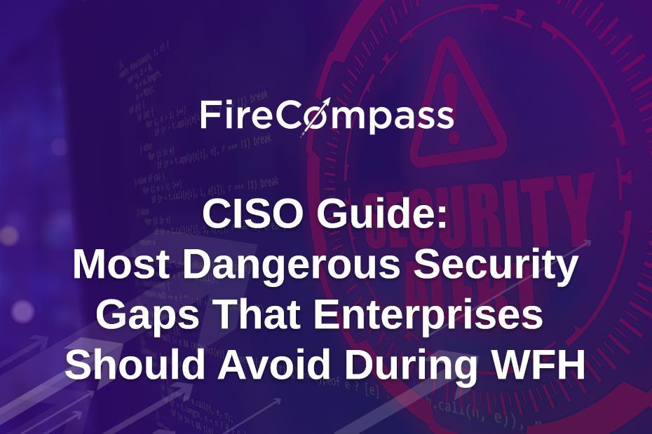 CISO Guide: Most Dangerous Security Gaps That Enterprises Should Avoid During WFH