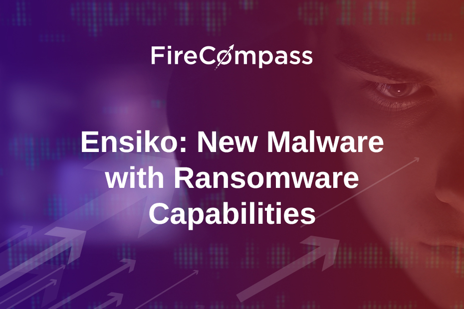 Ensiko: New Malware with Ransomware Capabilities
