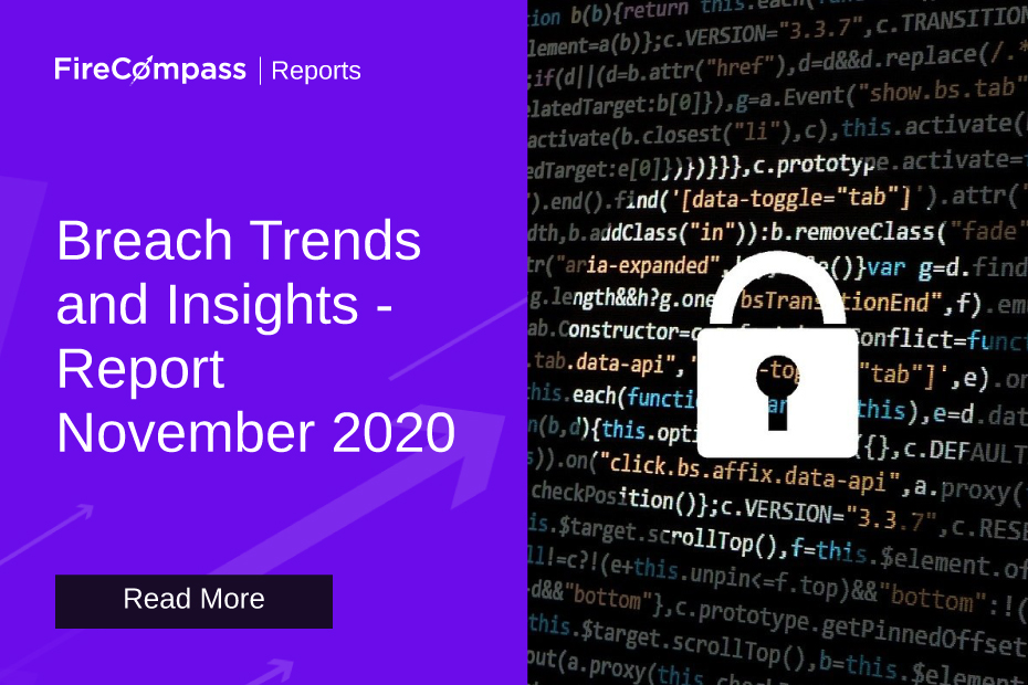 Breach Trends and Insights - November 2020